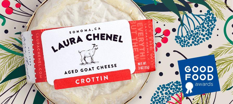 Laura Chenel Crottin Wins 2020 Good Food Award