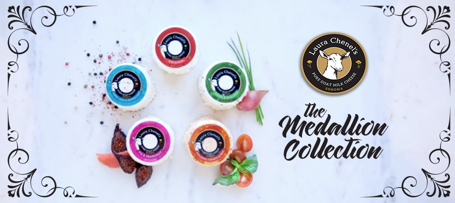 Laura Chenel's Launches Medallion Collection with New 3.5-Ounce Format