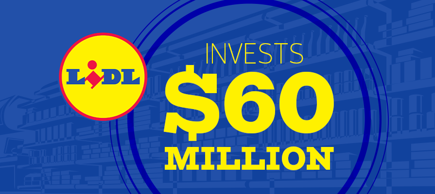 Lidl Invests $60 Million in New Facility and Announces 55 New Stores