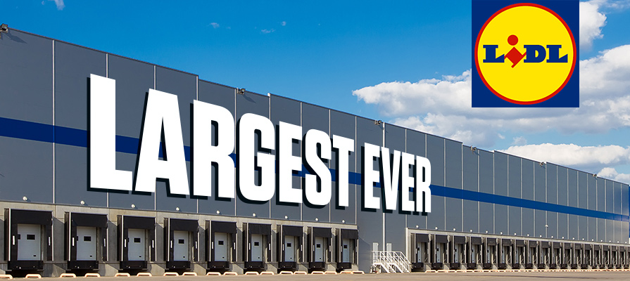Lidl Opens its Largest Distribution Center in Great Britain