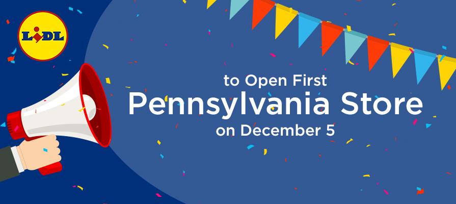 Lidl Enters the Pennsylvania Market