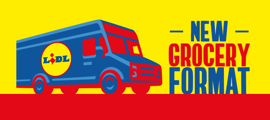 Lidl Introduces New Food Truck Format to Deliver Groceries