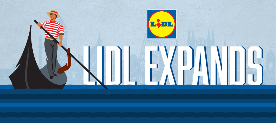 Lidl Plans for 50 New Stores in Italy