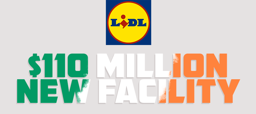 Lidl Opens 110M-Dollar Facility
