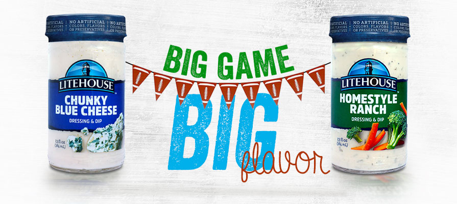 Litehouse Promotion Highlights Retail Opportunities for The Big Game