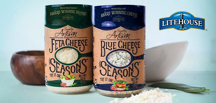 Litehouse to Release New Line of Simple Seasons Shakeable Cheese Flavors
