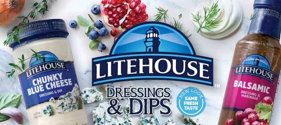 Litehouse Unveils New Look For Dressings and Dips