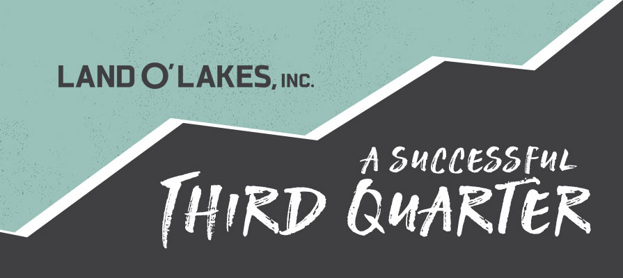 Land O'Lakes Announces Increased Third Quarter Earnings