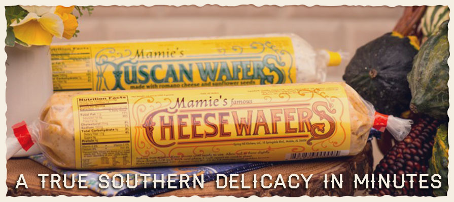 Mamie's Famous Cheese Wafers Touts Convenience and Southern Flavor