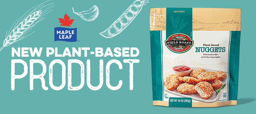 Maple Leaf's Field Roast™ Expands Frozen Portfolio with Plant-Based Nuggets