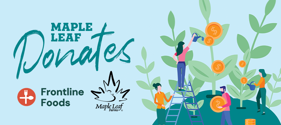 Maple Leaf Farms Donates a Portion of Online Sales to Frontline Foods