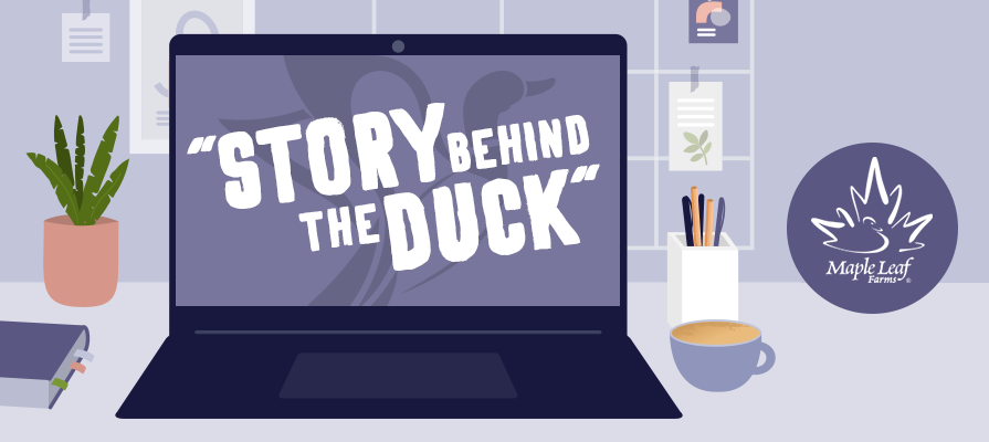 Maple Leaf Farms Launches Its 'Story Behind the Duck' Webinar