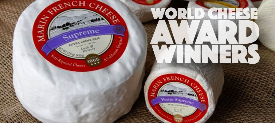 Marin French Cheese & Laura Chenel's Bring Home World Cheese Awards