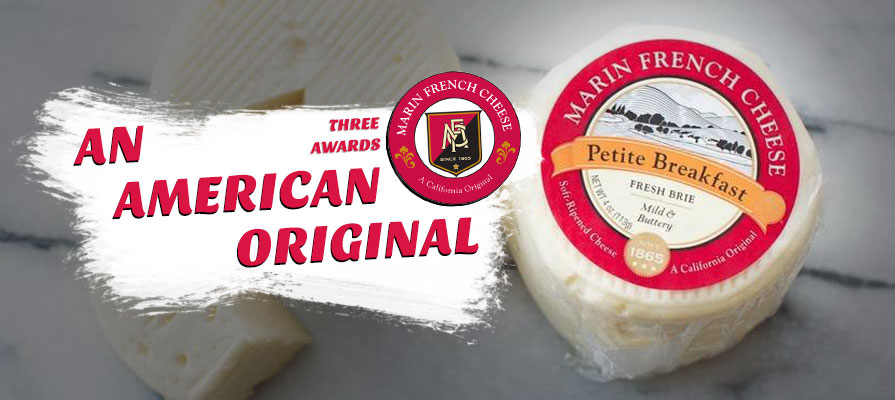 Marin French Wins Three Awards at the American Cheese Society's 2018 Competition