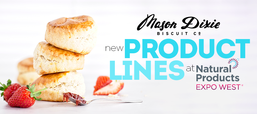 Mason Dixie Foods to Debut Two New Product Ranges at Natural Products Expo West