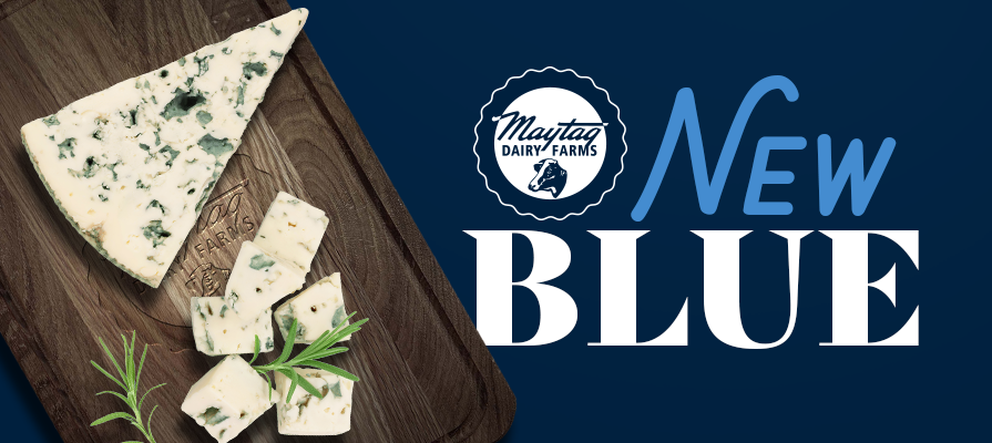 Maytag Dairy Farm Announces Release of New Blue Cheese