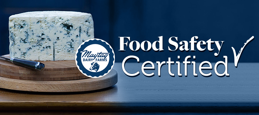 Maytag Dairy Farms Passes Safe Quality Food Level 3 Certification Inspection Audit