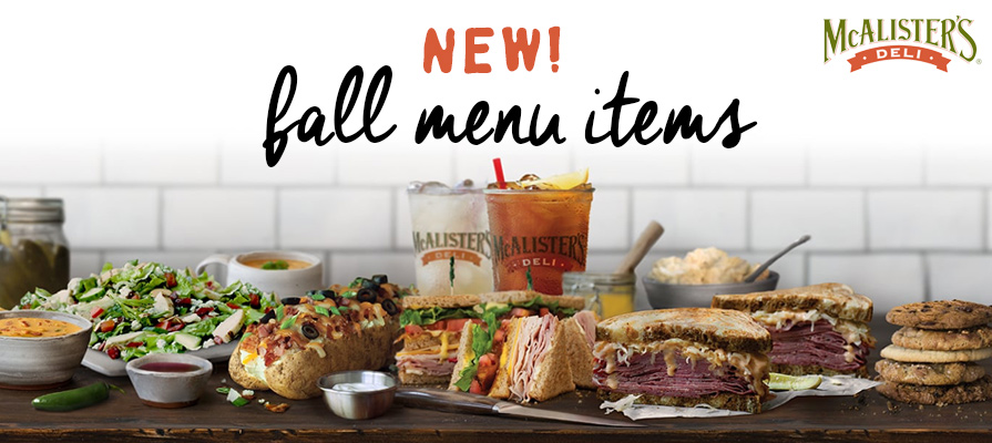McAlister's Deli® Launches New Menu Items