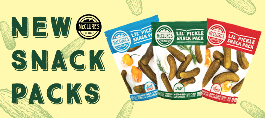 McClure's Pickles Introduces New Pickle Snack Packs