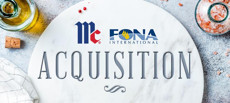 McCormick Acquires FONA International