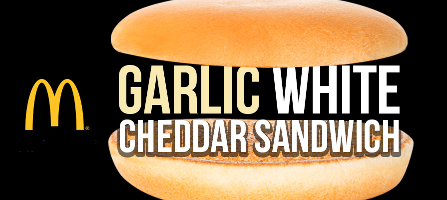 McDonald's Releases Garlic White Cheddar Sandwich to Signature Crafted Menu