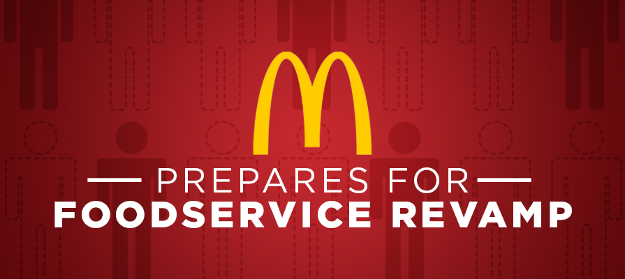 McDonald's Prepares for Foodservice Revamp, Setting a Precedent for the Industry