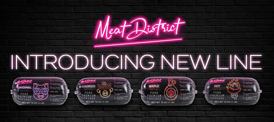 Meat District Launches Premium Pork Sausage Line
