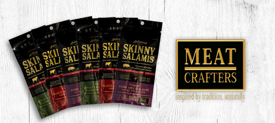 MeatCrafters Launches New Skinny Salamis