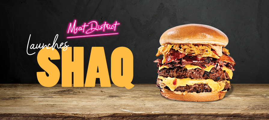 Meat District Launches  Shaq  Burgers in Retail Stores Nationwide; Zack Levenson and Shaquille O'Neal Comment