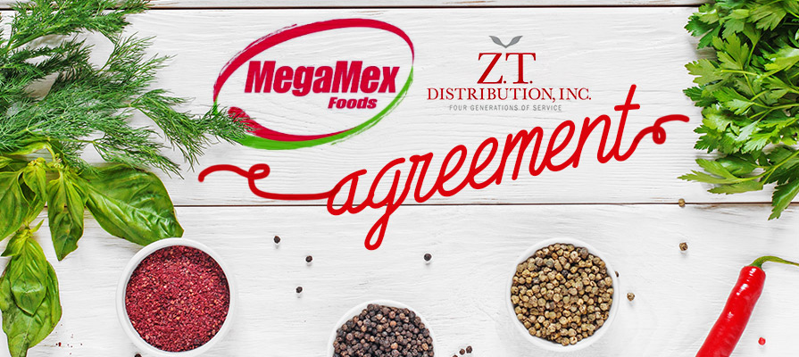 MegaMex Foods Announces Snacking Distribution Agreement with Z.T. Distribution and Utz Quality Foods