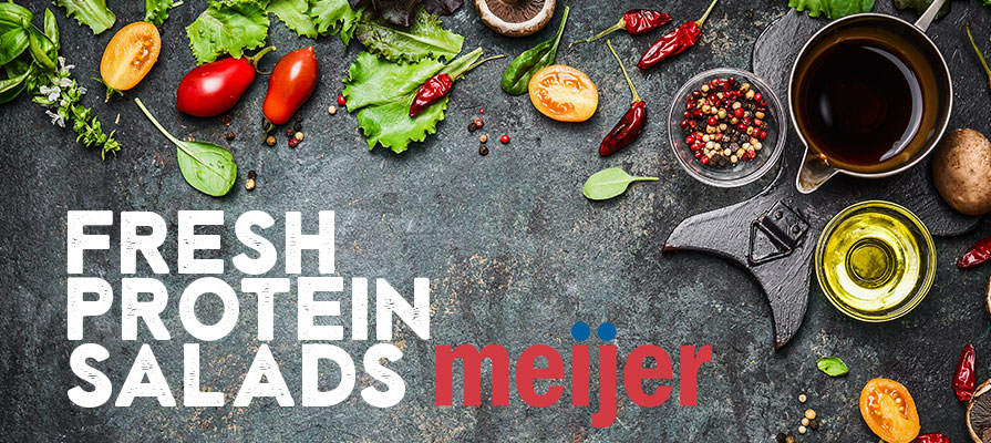 Meijer Adds Five Protein-Packed Salads to Its Deli Lineup