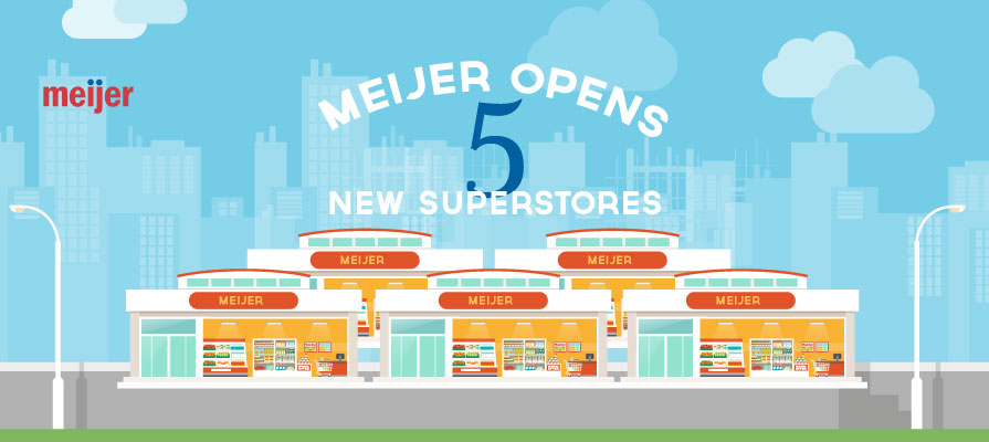 Meijer Outlines Plan for New Superstores in Ohio by 2020