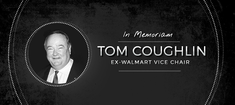 Ex-Walmart Vice Chair Tom Coughlin Passes
