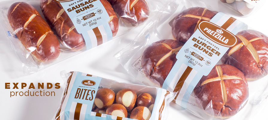 Miller Baking Expands Pretzilla Products, Adds New Production Facility