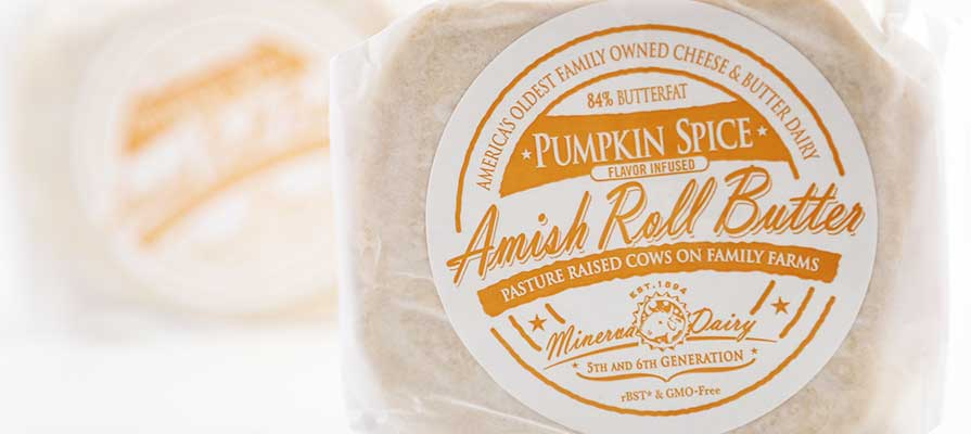 Minerva Dairy Highlights Amish Roll Butter's 84% Fat Content