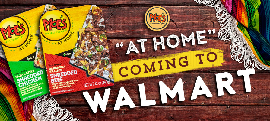 Moe's Southwest Grill Coming to Walmart