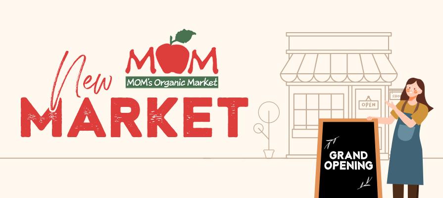 MOM's Organic Market Enters New Market