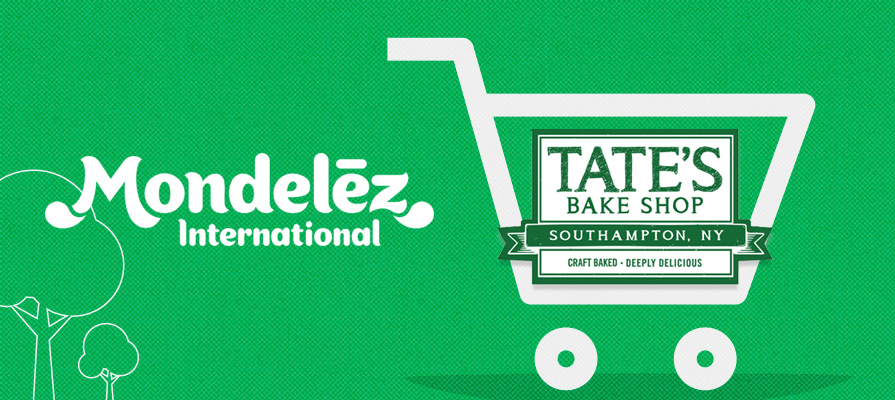 Mondelēz International Announces Plan to Acquire Tate's Bake Shop
