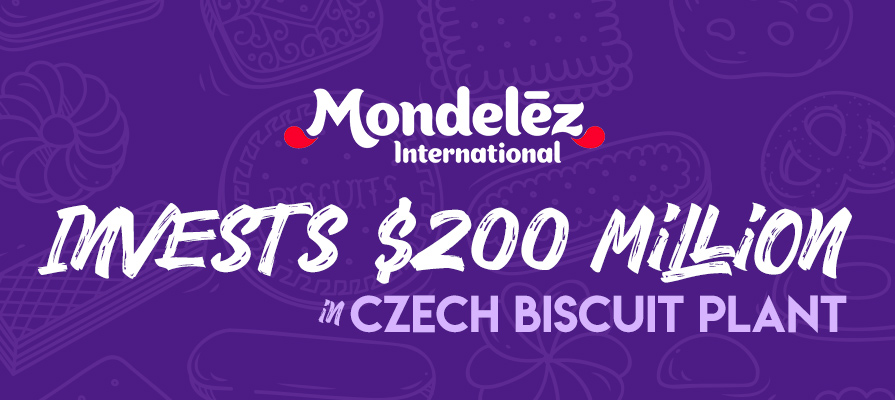Mondelēz International Accelerates Growth in Europe, Invests $200 Million in Czech Biscuit Plant
