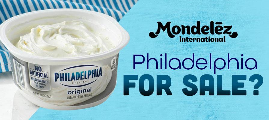 Mondelēz International Mulls Sale of Philadelphia Soft Cheese