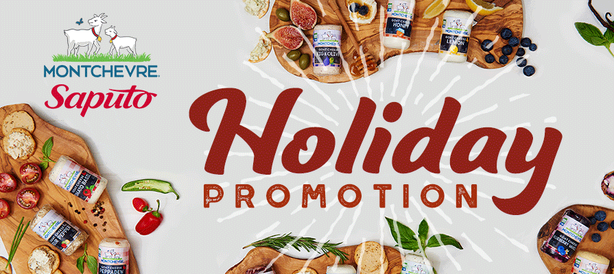 Montchevre® Launches Holiday Promotion