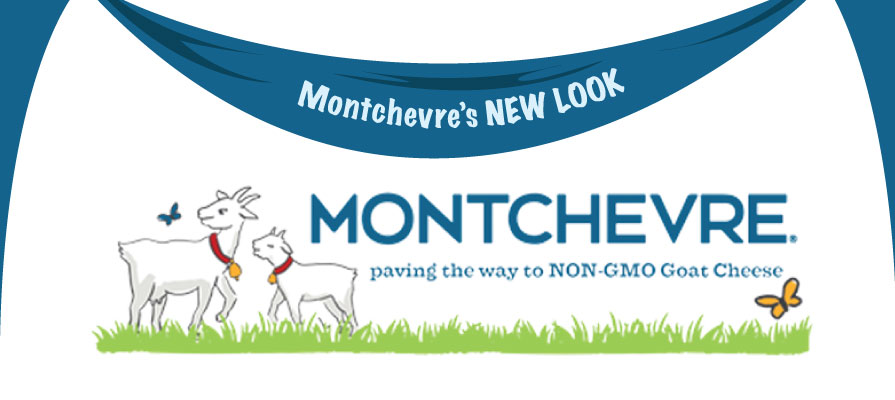 Montchevre's Unveils New Branding and First Non-GMO Goat Cheese