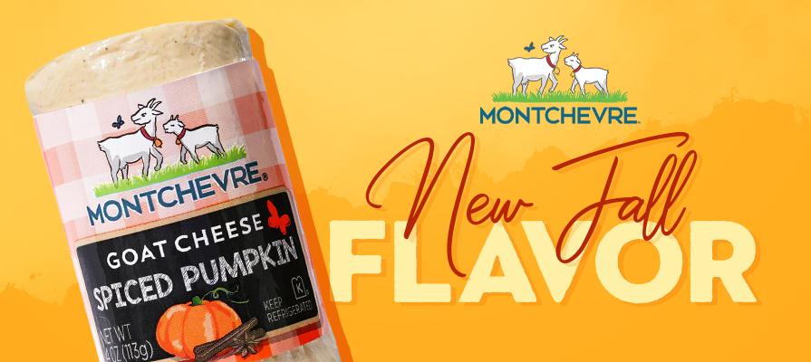 Montchevre® Unveils New Spiced Pumpkin Goat Cheese
