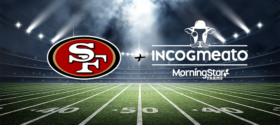 Incogmeato® and MorningStar Farms® Named Official Plant-Based Protein of San Francisco 49ers Franchise; Heidi Ray and Kevin Hilton