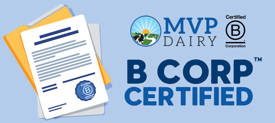 MVP Dairy Earns B Corp Certification