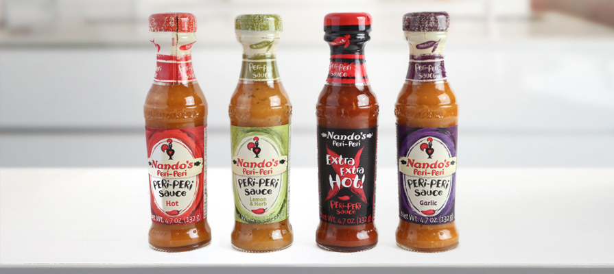 Nando's Peri-Peri Sauce Line Brings Hot Foodservice Brand to Retail