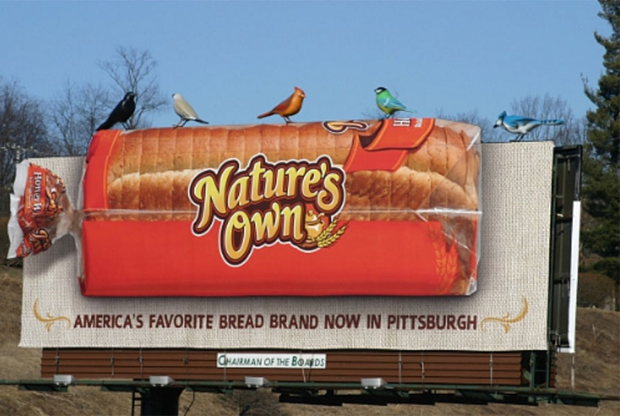 Nature's Own Conceives Amusing Billboard