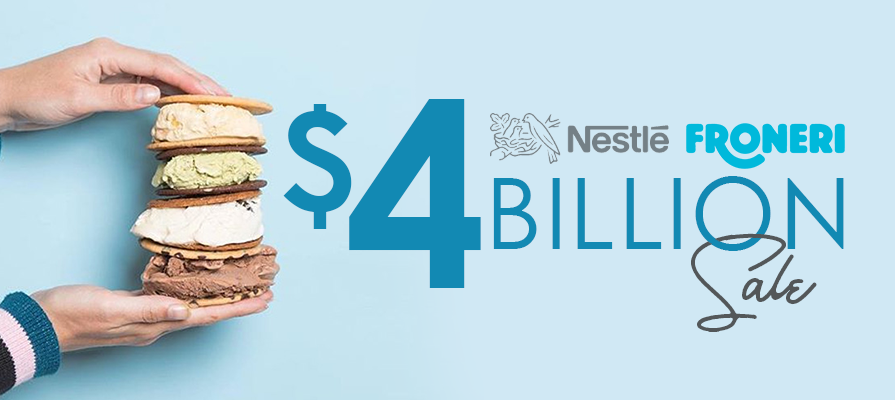 Nestlé Sells U.S. Ice Cream Business to Froneri for $4 Billion