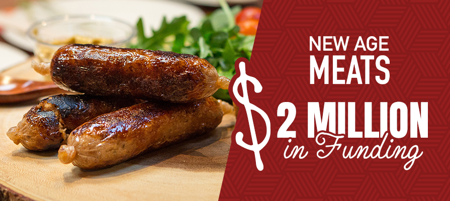 New Age Meats Raises $2M Seed Extension to Continue Developing Cultivated Pork