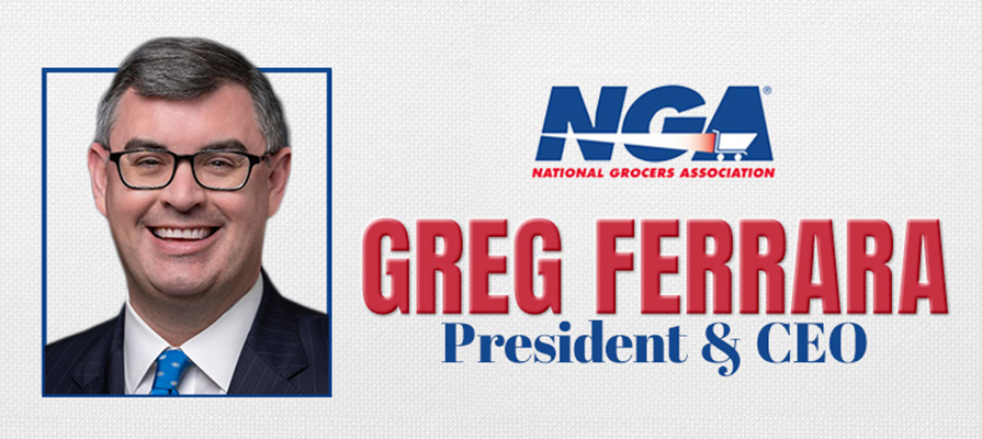 Greg Ferrara Named President and CEO of National Grocers Association